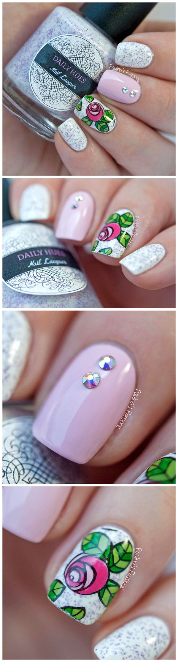 674 Best Nail Stamp Glitter Images On Pinterest Stamping