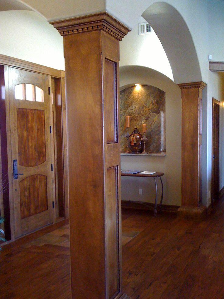 31 best column ideas images on pinterest wood columns - Interior design jobs in austin tx ...
