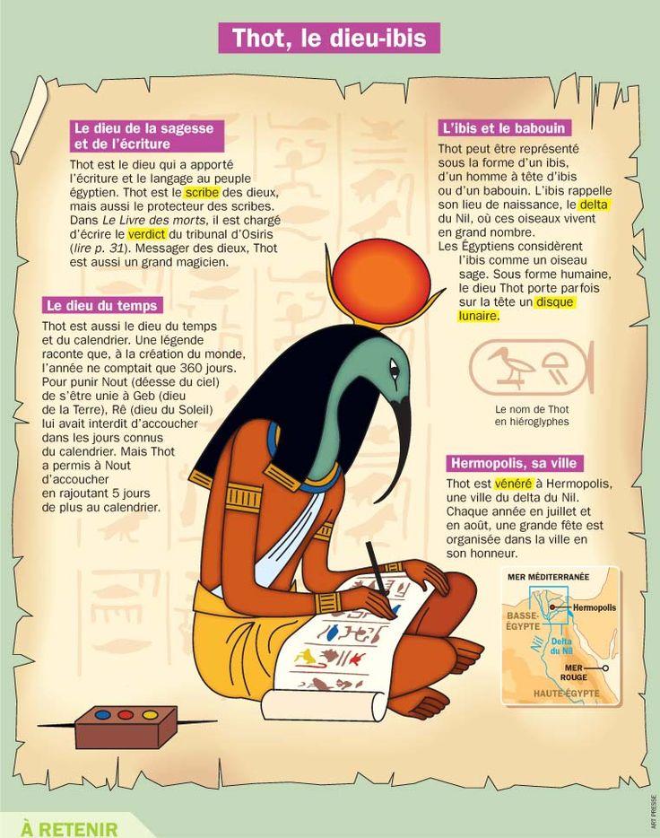 Thot, le dieu-ibis