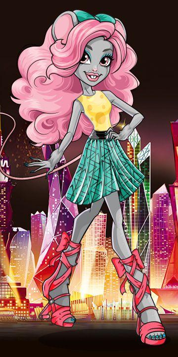 Monster High Boo York, Boo York Moucedes King Artwork