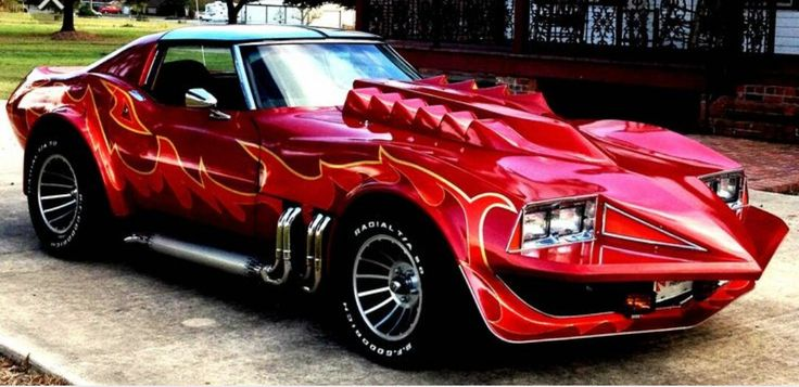 "1973 Corvette (Korkys Customs) from the 1978 comedy/adventure movie ""Corvette Summer"" and featured on Gas Monkey."
