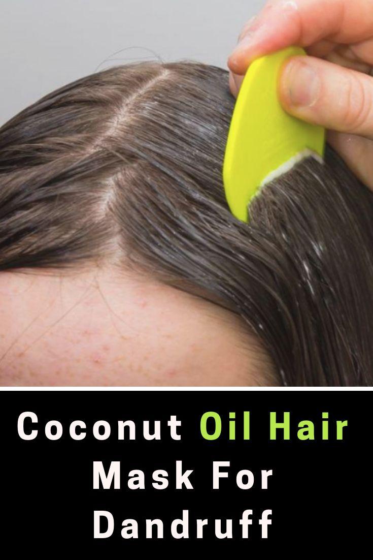 Coconut Oil Hair Mask For Dandruff : Works Immedia…