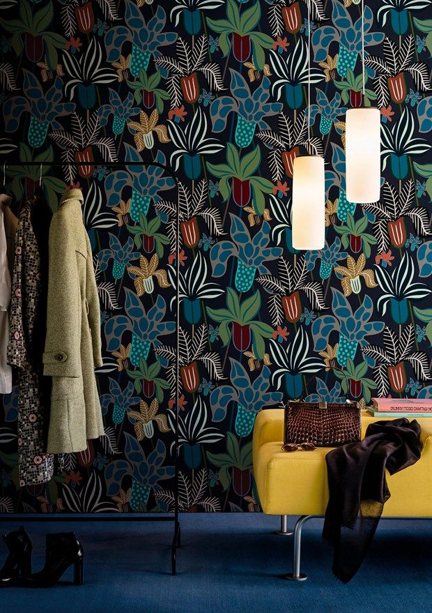Contemporary Wallpaper 2016 collection by Wall&Decò premiered in Paris