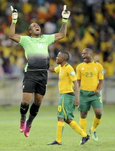 Bafana Bafana vs CAR | Bafana Bafana celebrate victory