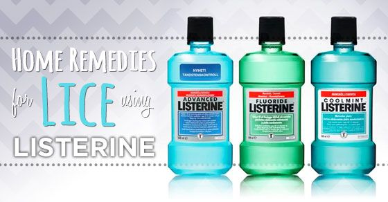 Listerine Lice Treatment at Home - kill lice without pesticides. Prevents lice too.