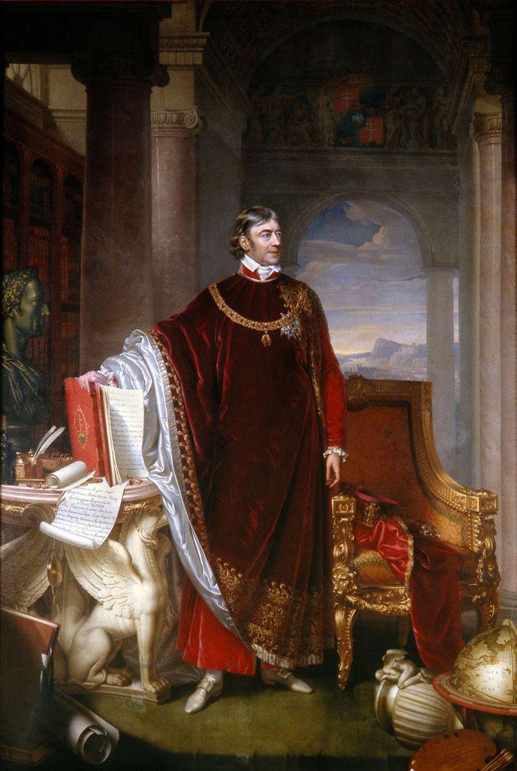 Count Ferenc Széchényi, c. 1823 by Johann Nepomuk Ender (Vienna 1793 – 1854 Vienna)