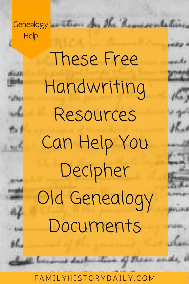 Need Help Deciphering Old Handwriting in Genealogy Documents