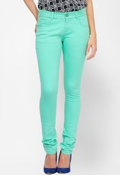 Yepme Green Solid Pant Online Shopping Store