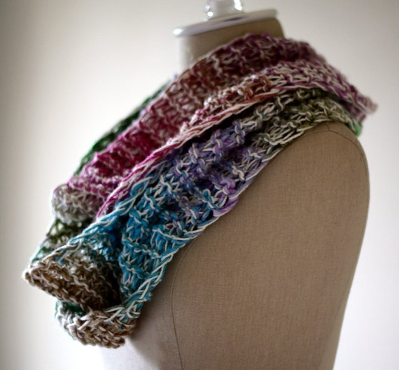 Noro Taiyo Knit Infinity Scarf: Arts Crafts, Infinity Scarfs, Megan Kube, Taiyo Knit, Crafts Projects, Knitting Ideas, Knit Infinity Scarves