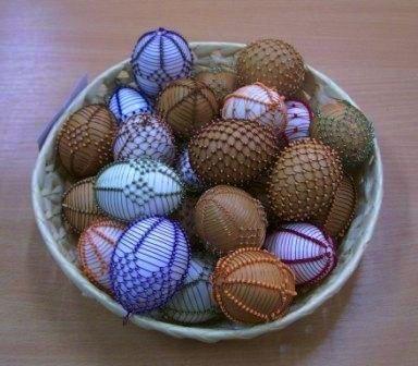 Ukázka drátovaných vajíček, autor: Z. Kopcová