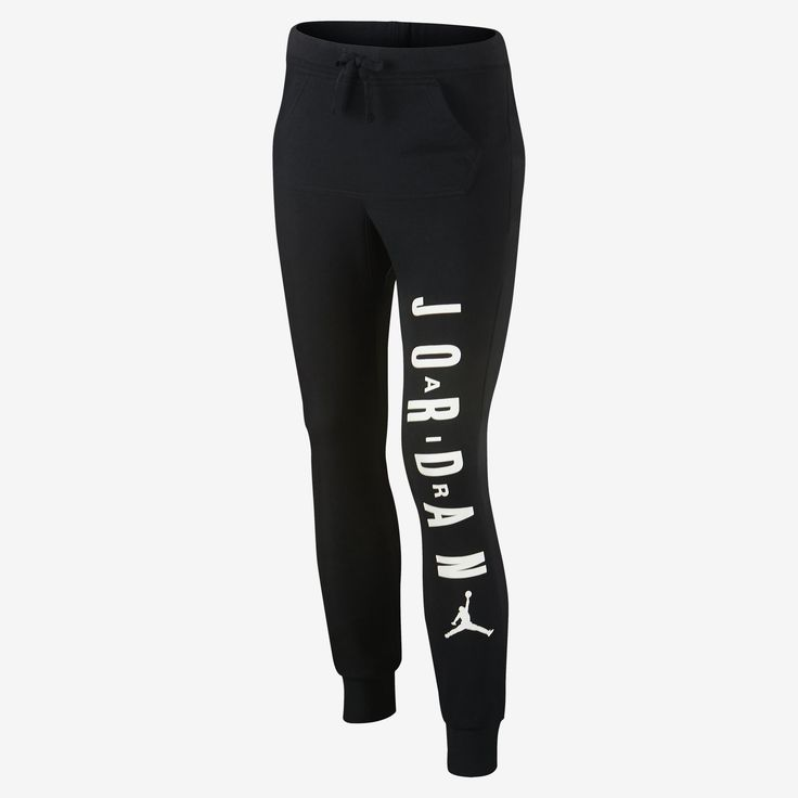 Jordan Too Fly To Sweat Girls' Sweatpants. Nike Store