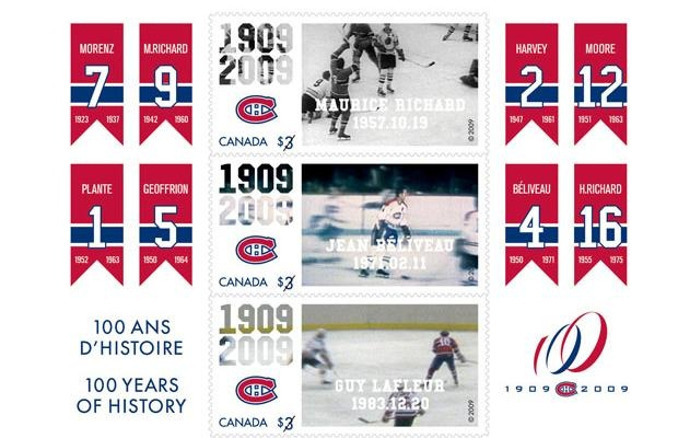 Montreal Canadiens Retired Jerseys
