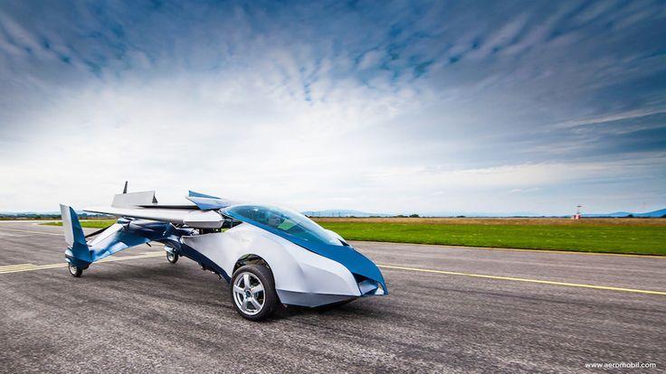 La voiture volante AeroMobil, ce n'est pas pour demain ! - http://www.leshommesmodernes.com/crash-voiture-volante-aeromobil/