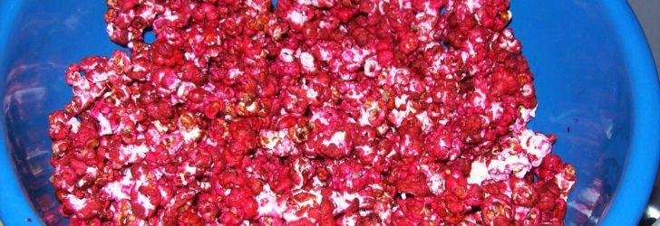 Pipoca doce vermelha (segredo dos pipoqueiros)