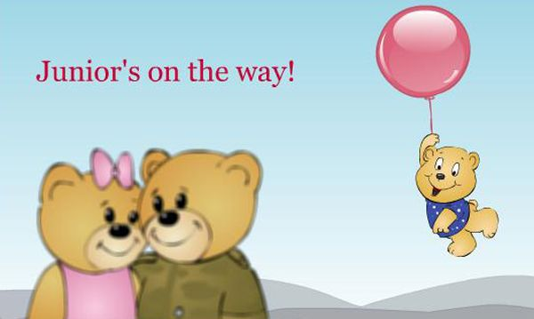 share the good news with your family and loved ones with this ecard free online pregnancy announcement ecards on family