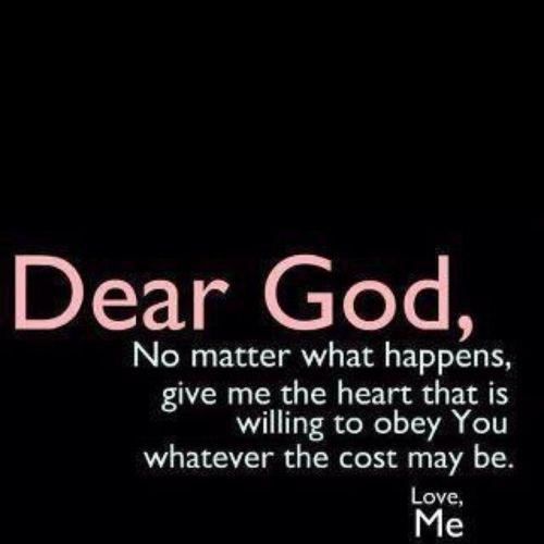This is my prayer.