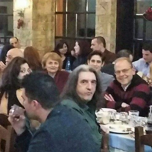 MENSA The High IQ Society, Reunion at a Restaurant in Chalandri City on 16 of December 2017.