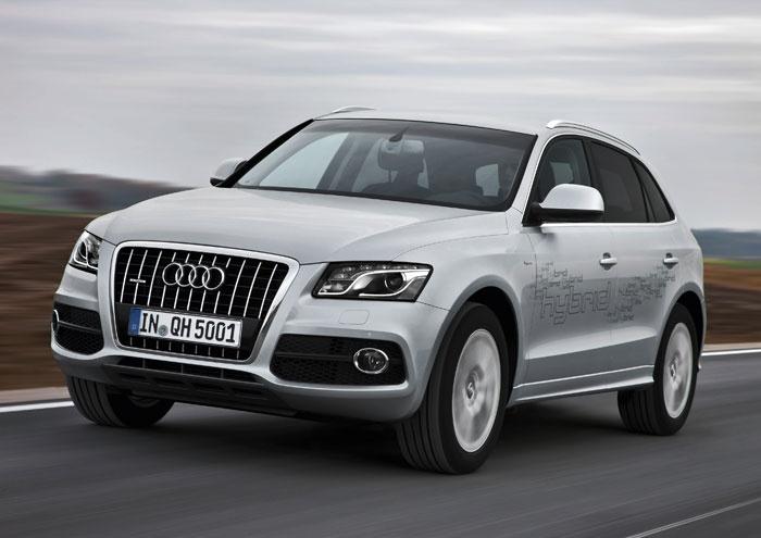 L'Audi Q5 hybrid quattro