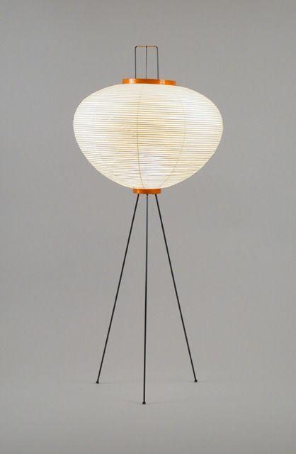Akari 10A - floor lamp out of shoji paper   lighting . Beleuchtung . luminaires   Design: Isamu Noguchi  