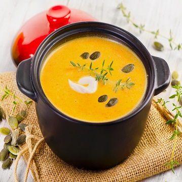Turmeric Pumpkin Soup - Recipe from Price Chopper - Could be THM XO or E