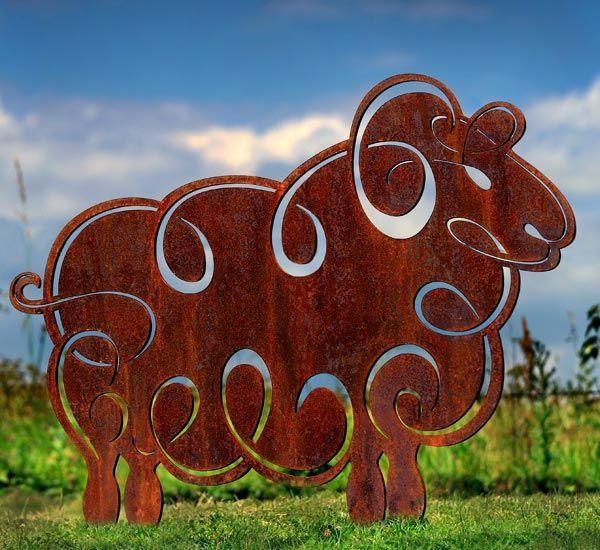 Garden Art Sculpture: 25+ Best Ideas About Metal Garden Sculptures On Pinterest