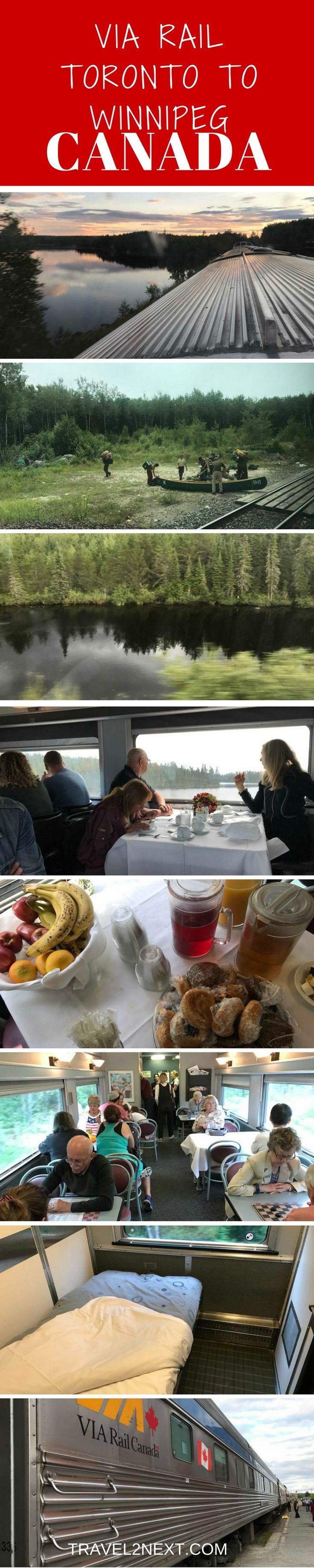 """The Canadian"" is a train journey that travels 4466 km, from the Boreal forests of Northern Ontario through the Prairies to the Canadian Rockies. It's a classic train journey across Canada right through the heart of the country."