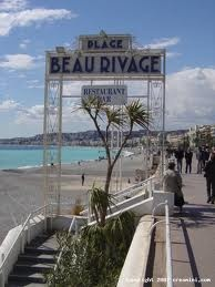 beau rivage, nice south of france.