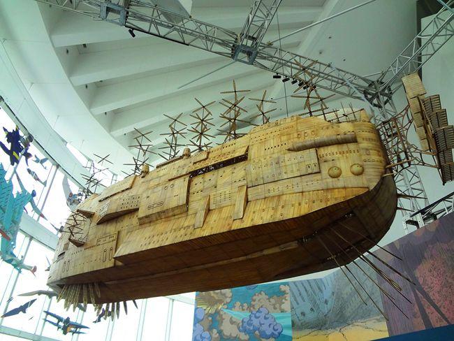 吉卜力航行中!《天空之城》巨大飛船飄浮在東京 | 大人物