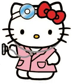 Hello Kitty Doctor <3 #hk #dr #med