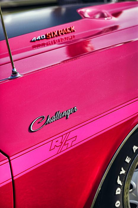 1970 Dodge Challenger RT 440 SIX PACK - Tickled Pink