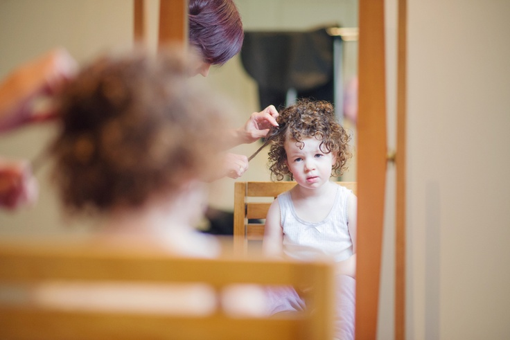Time for Rome to get those crazy curls sorted out.