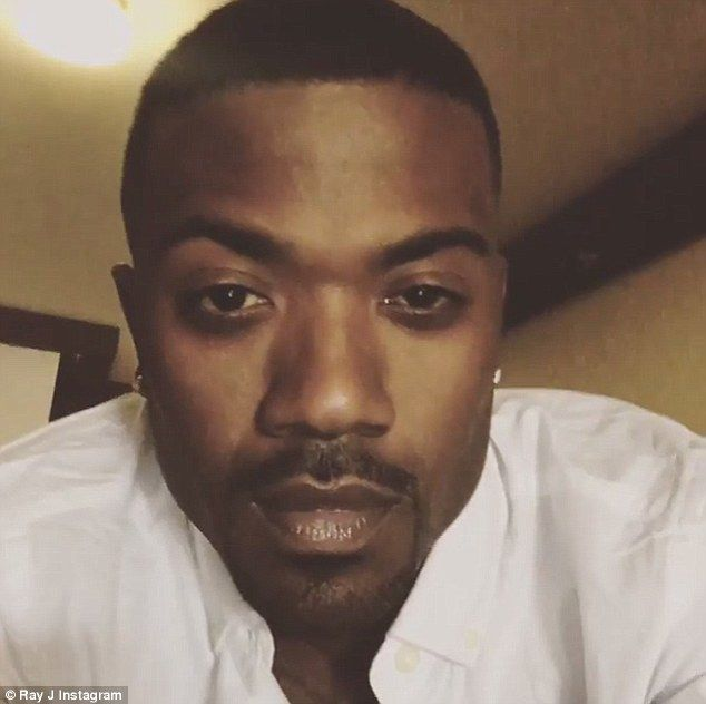 'Chris is my homie': Ray J (seen in one of his Instagram clips on Tuesday) has defended Chris Brown in a new interview with Entertainment Tonight describing the star's arrest as sad and wrong