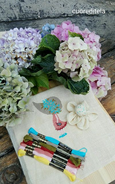 cuoreditela e disegni a crocette: Mini Doll