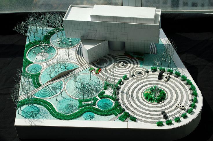 Vanke Daxing Yihezhuang Landscape, Beijing,CN SPARK Architects