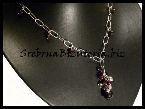 My own garnet necklace