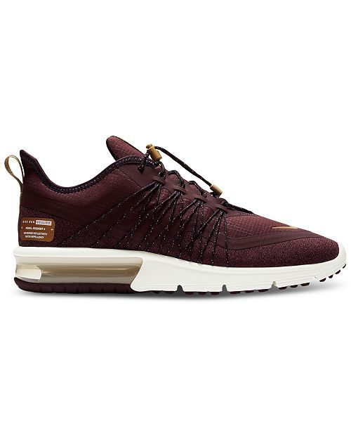0fc7d2e31b72 Nike Women s Air Max Sequent 4 Shield Running Sneakers from Finish Line -  Red 5