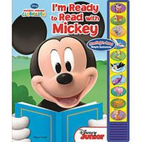 I'm Ready to Read Book - Mickey Mouse