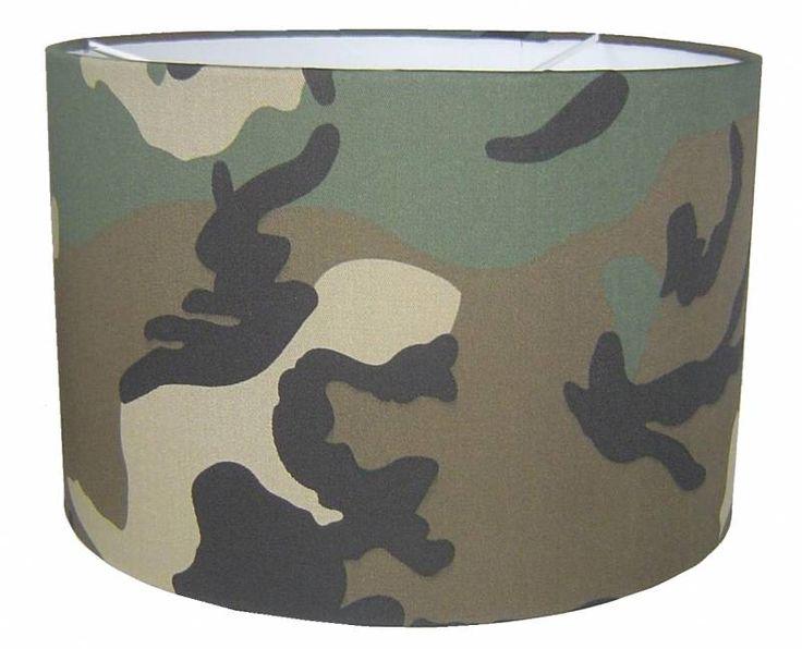 Designed 4 Kids lampenkamp camouflage Army (gratis verzending)