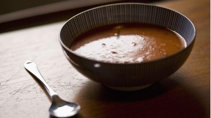 Préparer une soupe de poisson