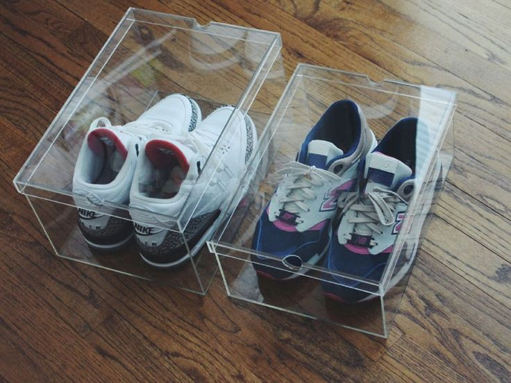 Our Box was made of High Quality Acrylic material, this type of material is very strong and also environment friendly, makes our Sneaker Box the best of its kind on the market. Put your holy grail in our SneakerC Clear Display Box can help preserve sneaker, and the box itself is also anti-yellowing and anti-fogging. | eBay!