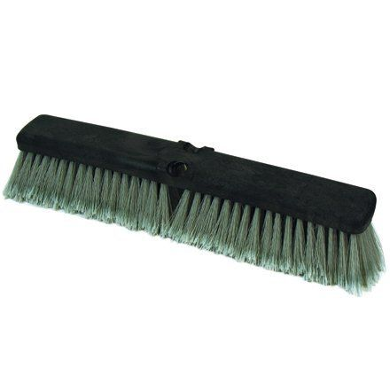 """Feather Tip Push Broom Head 18"""", O'Cedarÿ (JAN110) Category: Warehouse Brooms by Box Packing and Shipping Supplies. $161.82. Case of 12 Heads. Item #: JAN110. Feather Tip Push Broom Heads. Soft PVC Feather Tip bristles sweep fine dust. Light-duty, feather tip, 18"""" push broom head. Handle sold separately. 12 per Case. Customers also search for: Brooms, Push Brooms. Save 22%!"""