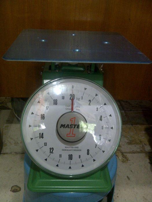 Harga Timbangan Duduk Merk Master One,Kapasitas 20kg,Pan size 24cm x 24cm Harga..