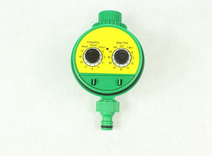 [Visit to Buy] Automatic Watering The Flowers Watering Irrigation Controller Automatic Timing Knob-Based Timer Long-Term Supply #Advertisement