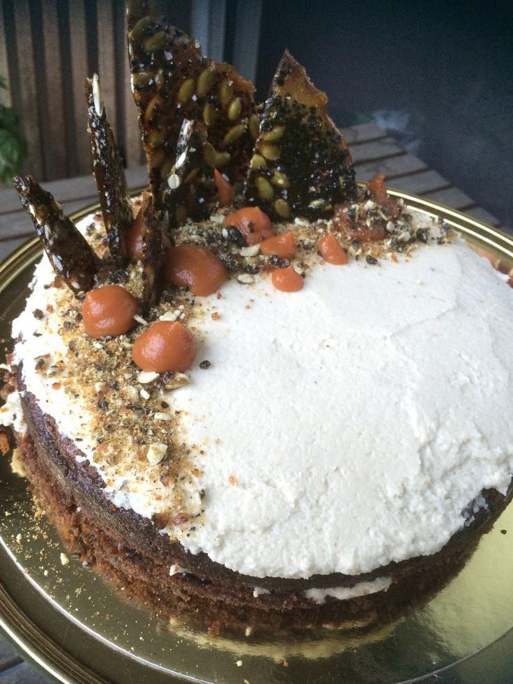 Carrot Cake for Grownups
