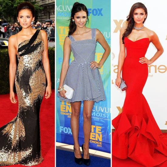 Up & Coming Trend Sitter: Nina Dobrev Red Carpet Style