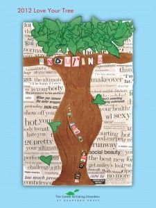 The 7th annual Love Your Tree campaign ~ Promoting positive body image and self-acceptance through art | The Center for Eating Disorders at Sheppard Pratt Blog