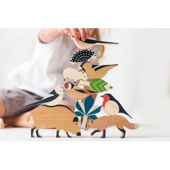 Set - Les animaux de la forêt