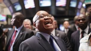 Jacob Zuma: South Africa's laughing president - BBC News