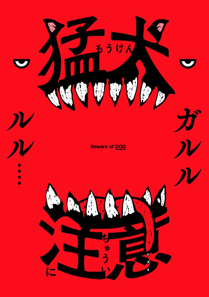 PAPER PLANE — 猛犬に注意 Beware of DOG graphic D:HASEGAWA SHINPEI