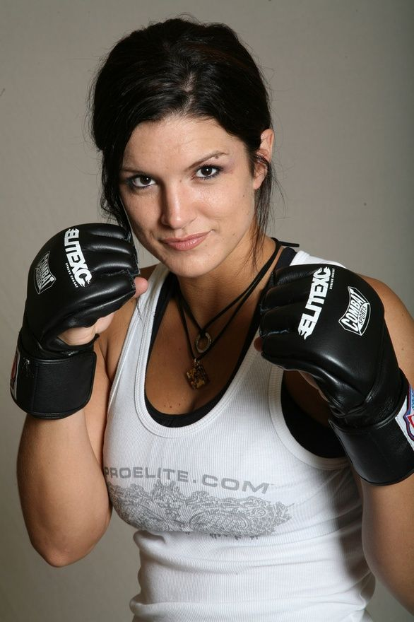 I keep forgetting how pretty Gina Carano although she can literally kick my butt. Lol